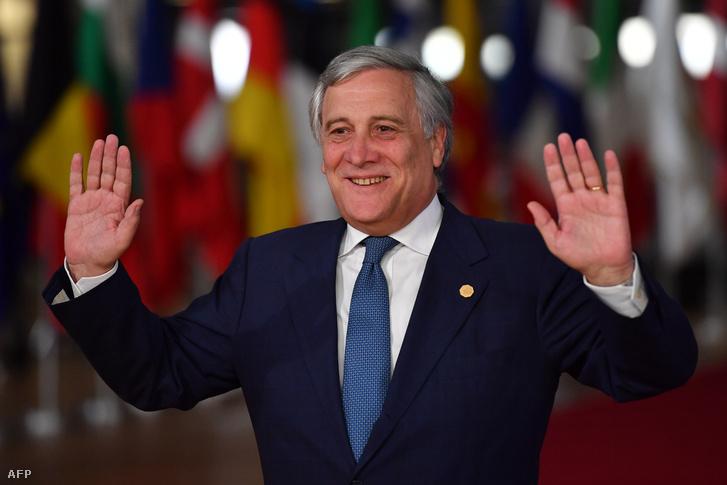 Antonio Tajani, az Európai Parlament elnöke