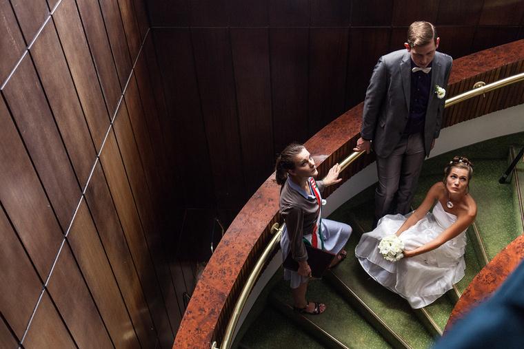 Fodor Annamária elégedetlen menyasszonyként