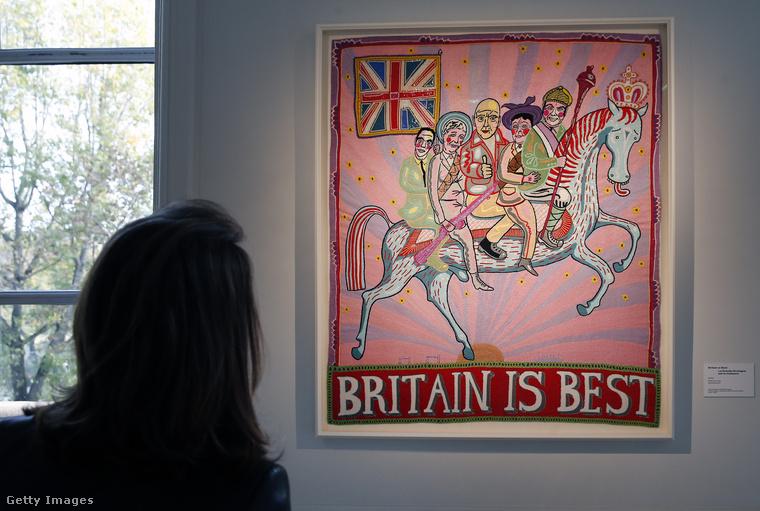 Nem fogja kitalálni: ennek az alkotásnak az a címe, hogy Britannia a legjobb.