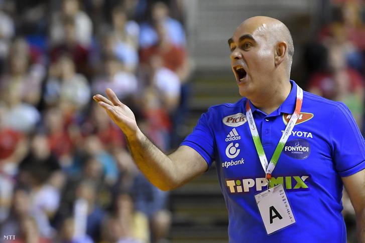 Juan Carlos Pastor, a Szeged spanyol vezetőedzője