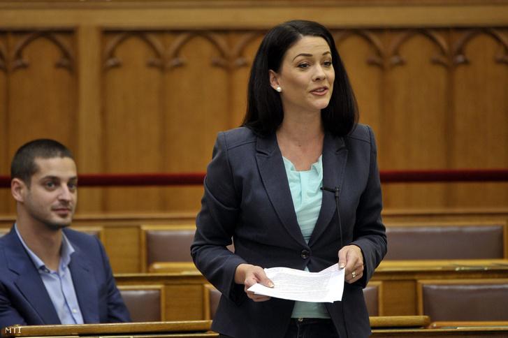 Demeter Márta, az LMP parlamenti képviselője