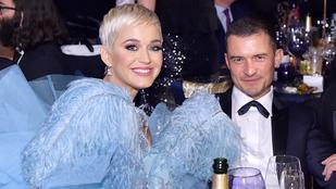 Katy Perry és Orlando Bloom gyanúsan kimérten gálázik együtt