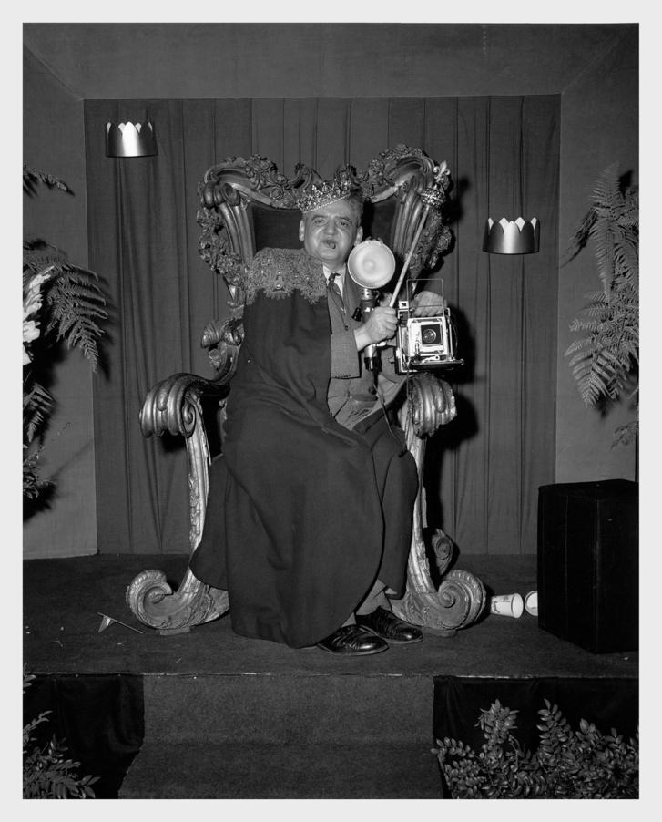 Weegee portréja, 1956