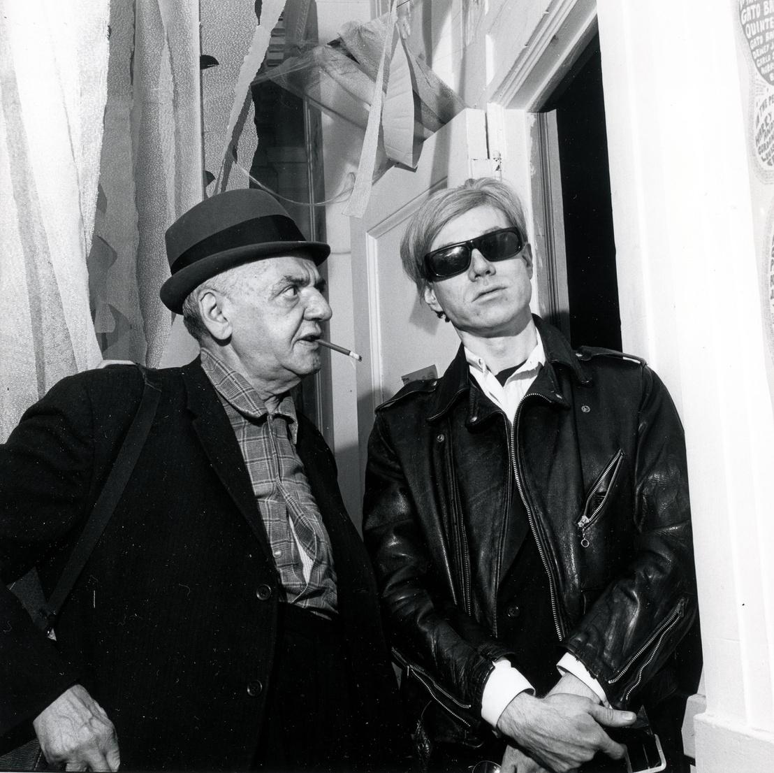 Andy Warhol és Weegee, dátum nélkül