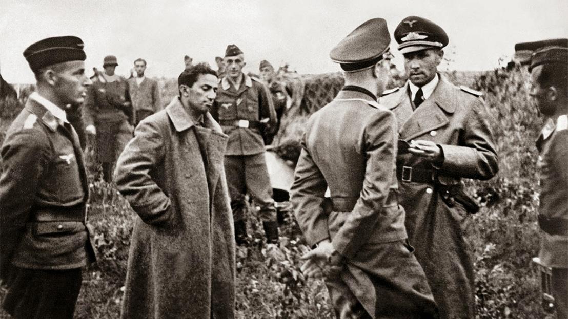 Stalin's son Yakov Dzhugashvili captured by the Germans, 1941 (1