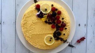 Mákos citromkrémes torta beépített vitaminokkal