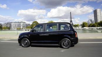 Már Párizsban is használható az új London Taxi