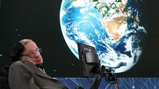 Ez volt Stephen Hawking utolsó figyelmeztetése az emberiség számára