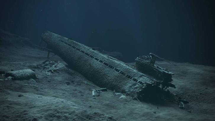 Az U-864 roncsai