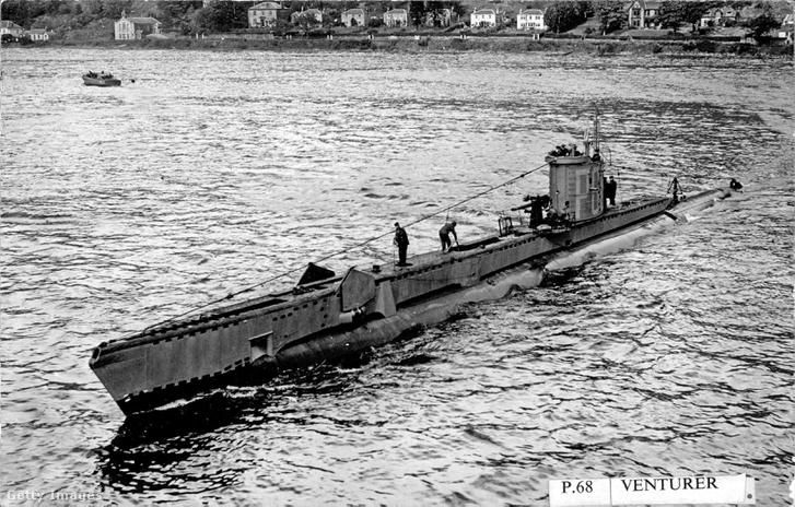 A HMS Venturer