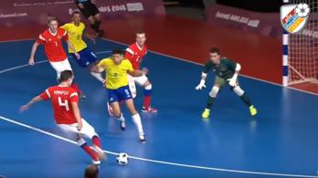 Hatalmas öngólt lőtt az ifi olimpiai döntőben az orosz
