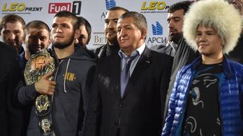 Habib apja megbocsátott McGregornak, meg is hívta őt egy dagesztáni versenyre