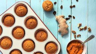 Gyömbéres sütőtökös muffin
