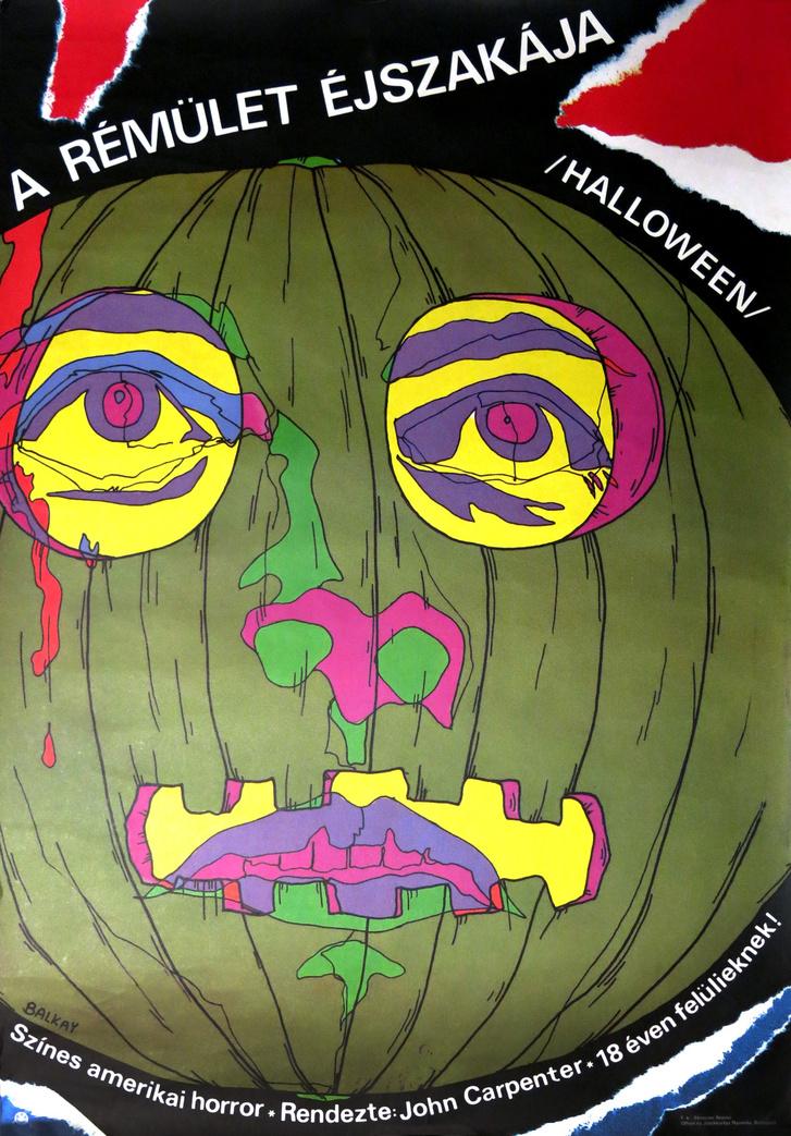 A Halloween magyar filmplakátja