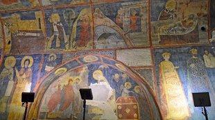 A pici templom, amit 1259-ből készített freskói tettek világhírűvé
