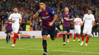 A Barca őrült meccsen verte meg a Sevillát