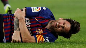 Orsócsontját törte Messi, lemarad az El Clásicóról