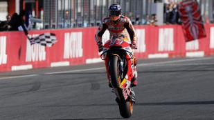 MotoGP: Márquez bírta jobban a thrillert, ötödször is világbajnok