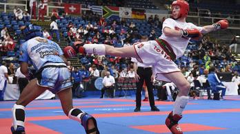 Két magyar arany a pozsonyi kick-box Eb-n