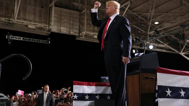 Magyar győzelem Trump arizonai nagygyűlésén