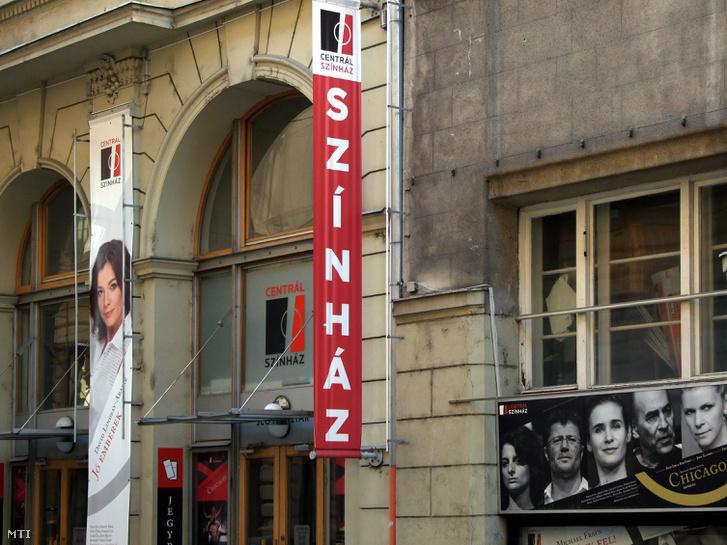 A Centrál Színház bejárata