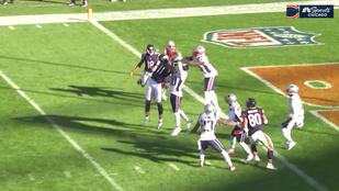 NFL-dráma: megcsinálták a legnehezebb dobást, csak épp 1 yarddal rövidre