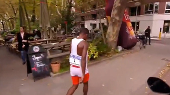 A maraton célja helyett inkább a hotelszobájára fordult rá az etióp sztár
