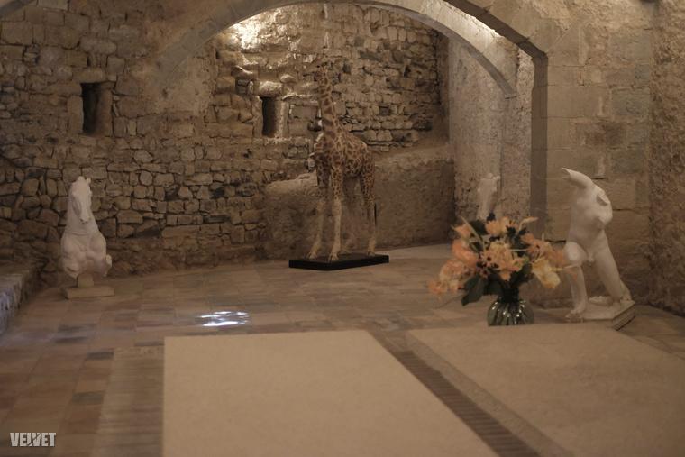 Gala sírja ma a ház alaksorában található.