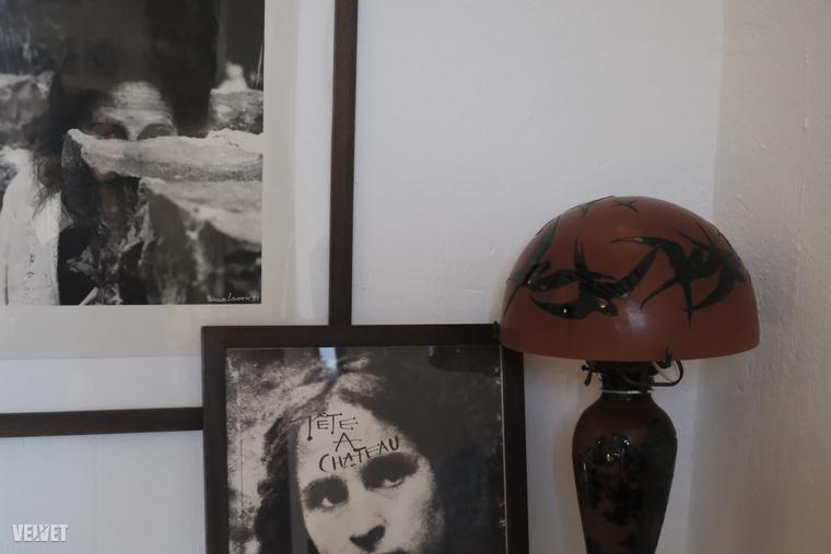 Öt év járás után Dalí felesége lett.