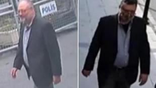 Álszakállban, a megölt szaúdi újságírónak öltözve ment ki egy férfi a főkonzulátusról