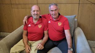Két bajnok, akiket üldöztek, nem becsültek