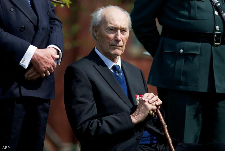 Joachim Ronneberg 2013-ban, 93 évesen