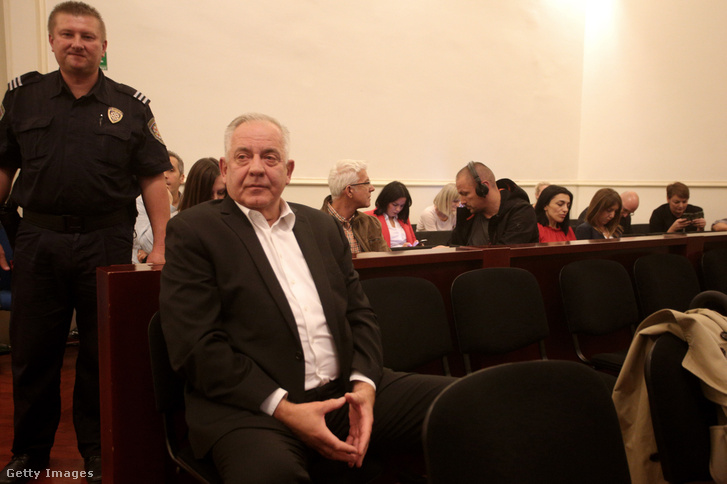 Ivo Sanader a bíróság előtt, 2018. október 22-én.