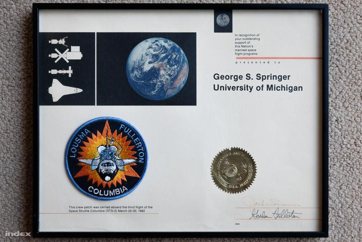 Díj a NASA-tól