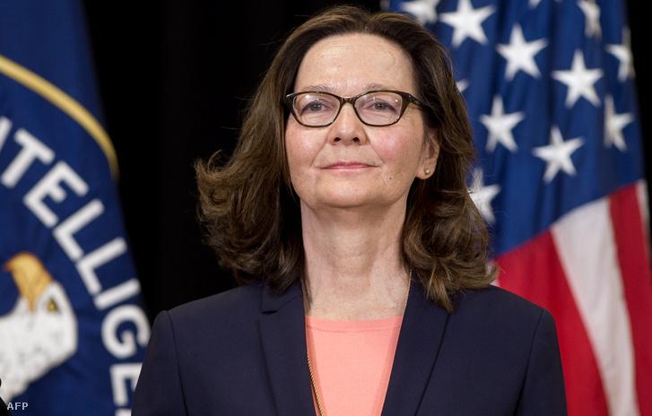 Gina Haspel CIA igazgató
