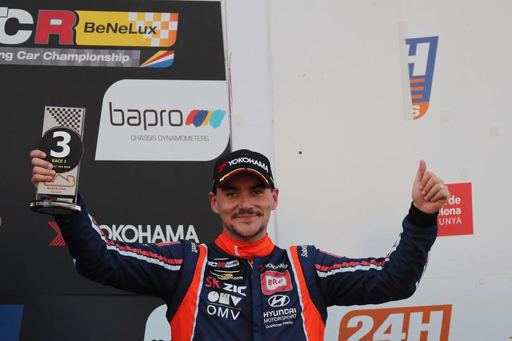 Michelisz a dobogón a TCR Európa-kupa barcelonai szezonzáróján