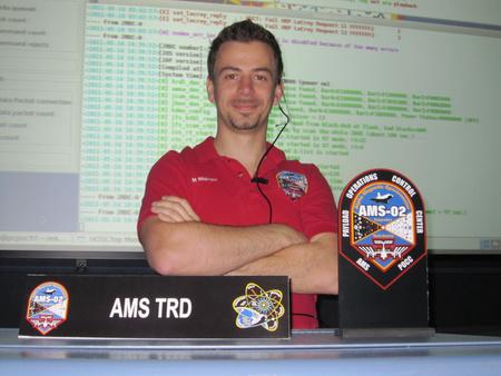 Millinger Márk a Johnson Űrközpontban
