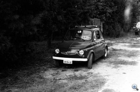 Imre Puchja 1986 nyarán, nem sokkal miután megvette
