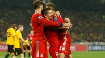 Két perc alatt vágott kettőt a Bayern a BL-ben