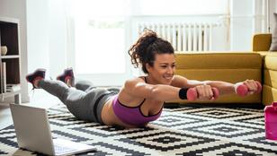 Szemmel látható változás 10 hét alatt: edzésprogram otthonra!