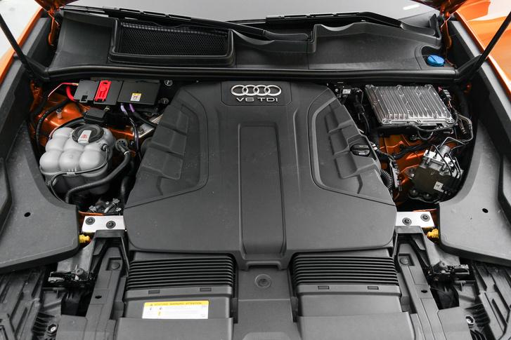 A V6-os TDI erősebbik, 286 lovas verziója