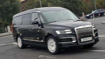 Lelepleződött az orosz elnöki kisbusz