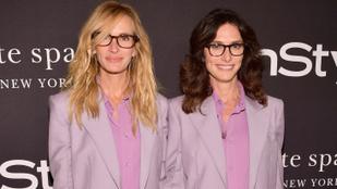 Julia Roberts és Jennifer Aniston is eléggé mellényúlt az InStyle-gálán