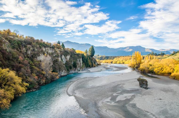 Az új-zélandi Arrowton és könyékének fái március és május között borulnak sárgába, ugyanis ez az új-zélandi ősz időszaka