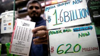 452 milliárd forintot nyert valaki egy amerikai lottón