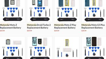 Javítókészletet ad a Motorola a törött kijelzőhöz