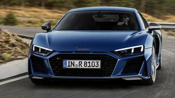 Megmutatták az új Audi R8-ast