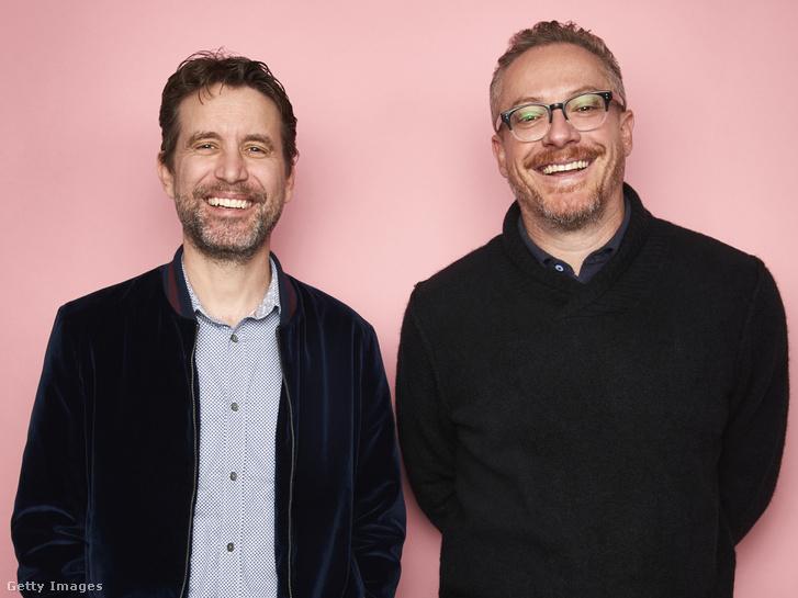 Rhett Reese (bal) és Paul Wernick a Tribeca TV Fesztiválon, New Yorkban 2018. szeptember 23-án