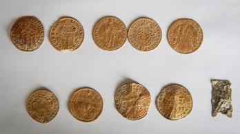 Aranypénzek és régi fegyverek kerültek elő a megapadt Dunából Érdnél