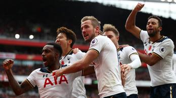 Drámai meccsen bukott pontot a Tottenham